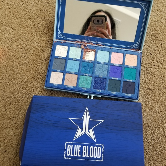 47b50f618027a4 Jeffree Star Makeup | Blue Blood Palette Read | Poshmark